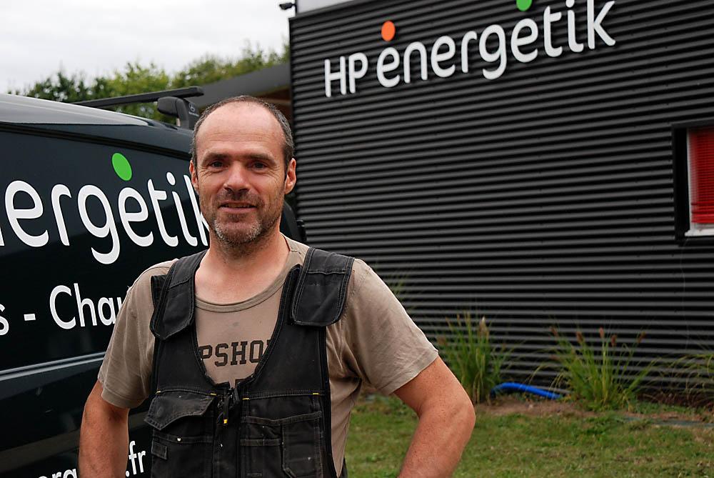 HP Energetik : christophe - plombier-chauffagiste
