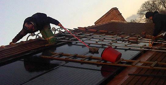 Entretien et maintenance des installations solaires