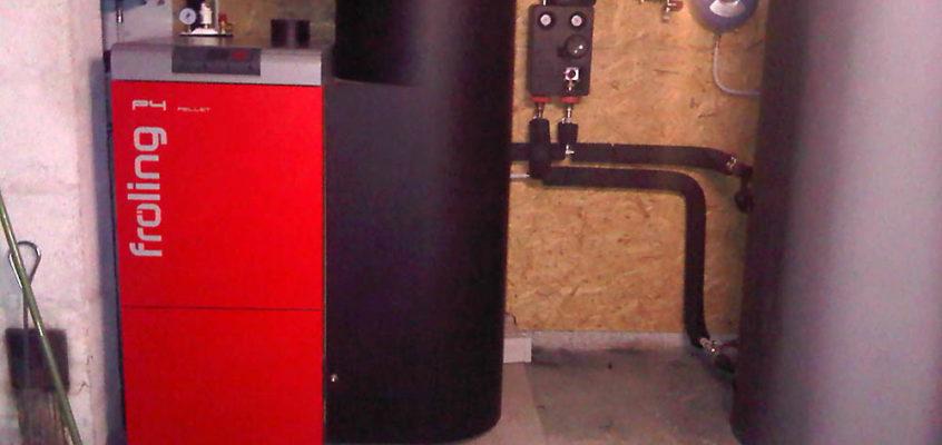 chaudière granulés à cancale posée par hp energetik