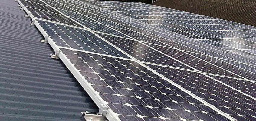 champ photovoltaïque-romille