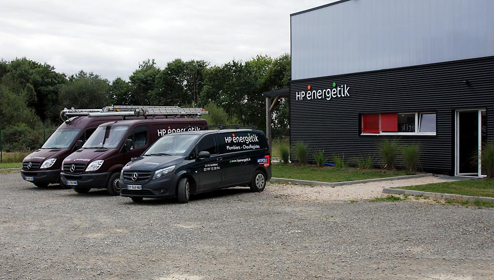 HP Energetik - véhicules et bâtiment