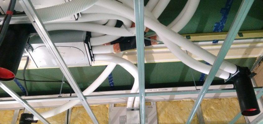 Pose d'une VMC Double Flux dans un collectif à Rennes par HP Energetik